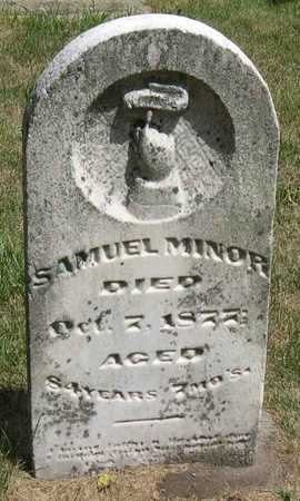 MINOR, SAMUEL - Linn County, Iowa | SAMUEL MINOR