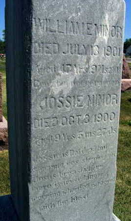 MINOR, JOSSIE - Linn County, Iowa | JOSSIE MINOR
