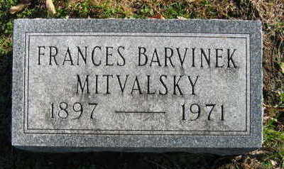MITVALSKY, FRANCES - Linn County, Iowa | FRANCES MITVALSKY
