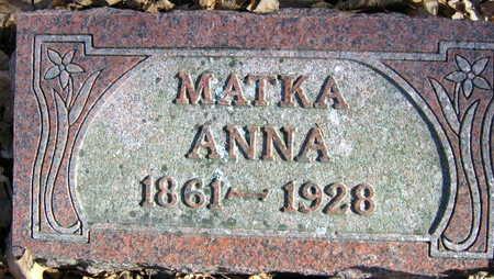 MODRACEK, ANNA - Linn County, Iowa | ANNA MODRACEK