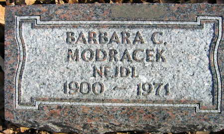 MODRACEK, BARBARA C. - Linn County, Iowa | BARBARA C. MODRACEK