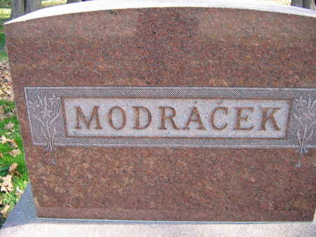 MODRACEK, FAMILY STONE - Linn County, Iowa | FAMILY STONE MODRACEK