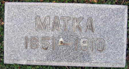 MOHRBACHER, MATKA - Linn County, Iowa | MATKA MOHRBACHER