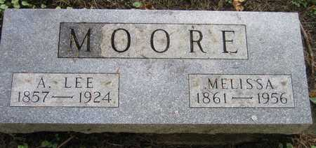 MOORE, A. LEE - Linn County, Iowa | A. LEE MOORE