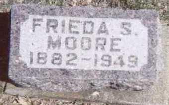 MOORE, FRIEDA S. - Linn County, Iowa | FRIEDA S. MOORE