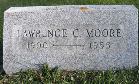 MOORE, LAWRENCE C. - Linn County, Iowa | LAWRENCE C. MOORE