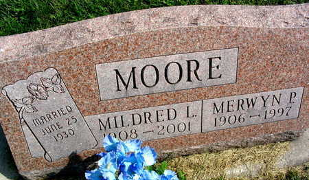 MOORE, MILDRED L. - Linn County, Iowa | MILDRED L. MOORE