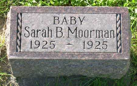MOORMAN, SARAH B. - Linn County, Iowa | SARAH B. MOORMAN