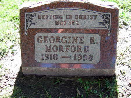 MORFORD, GEORGINE R. - Linn County, Iowa | GEORGINE R. MORFORD