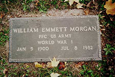 MORGAN, WILLIAM EMMETT - Linn County, Iowa | WILLIAM EMMETT MORGAN