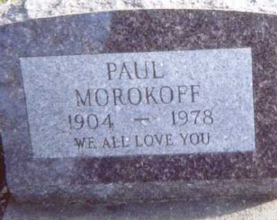 MOROKOFF, PAUL - Linn County, Iowa | PAUL MOROKOFF