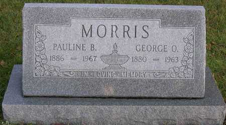 MORRIS, GEORGE O. - Linn County, Iowa | GEORGE O. MORRIS