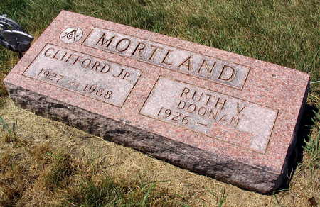 MORTLAND, CLIFFORD, JR. - Linn County, Iowa | CLIFFORD, JR. MORTLAND