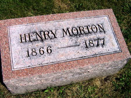 MORTON, HENRY - Linn County, Iowa | HENRY MORTON