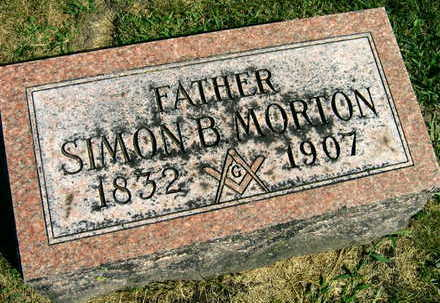 MORTON, SIMON B. - Linn County, Iowa | SIMON B. MORTON