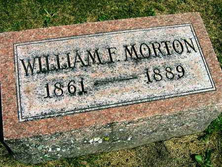 MORTON, WILLIAM F. - Linn County, Iowa | WILLIAM F. MORTON