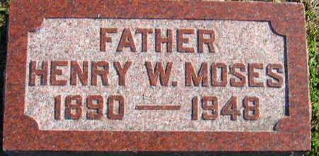 MOSES, HENRY W - Linn County, Iowa | HENRY W MOSES