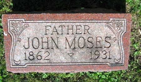 MOSES, JOHN - Linn County, Iowa | JOHN MOSES