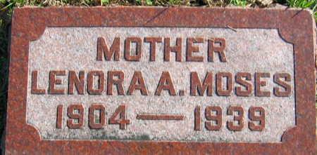 MOSES, LENORA A. - Linn County, Iowa | LENORA A. MOSES