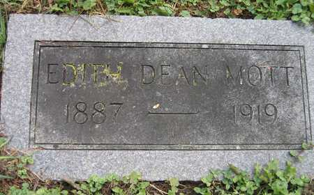 DEAN MOTT, EDITH - Linn County, Iowa | EDITH DEAN MOTT