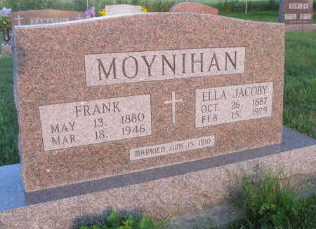 JACOBY MOYNIHAN, ELLA - Linn County, Iowa | ELLA JACOBY MOYNIHAN