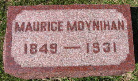 MOYNIHAN, MAURICE - Linn County, Iowa | MAURICE MOYNIHAN