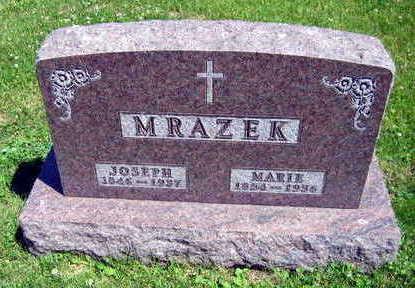 MRAZEK, MARIE - Linn County, Iowa | MARIE MRAZEK