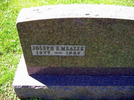 MRAZEK, JOSEPH F. - Linn County, Iowa | JOSEPH F. MRAZEK