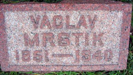 MRSTIK, VACLAV - Linn County, Iowa | VACLAV MRSTIK