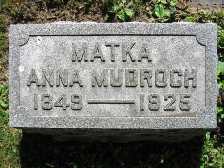 MUDROCH, ANNA - Linn County, Iowa | ANNA MUDROCH