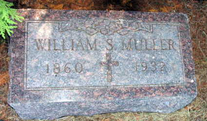 MULLER, WILLIAM S. - Linn County, Iowa | WILLIAM S. MULLER