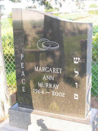 MURRAY, MARGARET ANN - Linn County, Iowa   MARGARET ANN MURRAY