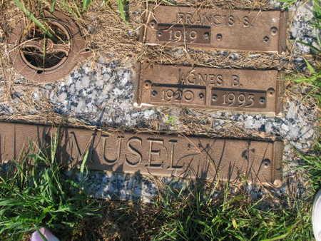 MUSEL, AGNES B. - Linn County, Iowa | AGNES B. MUSEL
