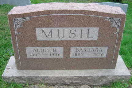 MUSIL, ALOIS B. - Linn County, Iowa | ALOIS B. MUSIL