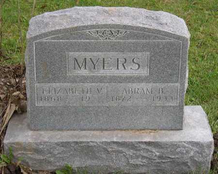 MYERS, ELIZABETH V. - Linn County, Iowa | ELIZABETH V. MYERS