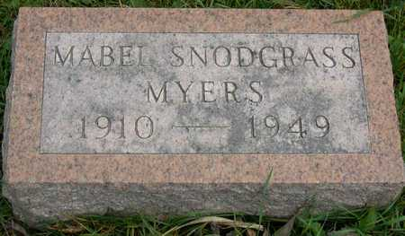 SNODGRASS MYERS, MABEL - Linn County, Iowa | MABEL SNODGRASS MYERS