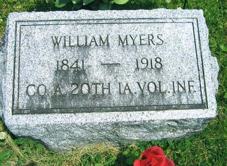 MYERS, WILLIAM - Linn County, Iowa | WILLIAM MYERS