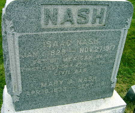 NASH, MARY A. - Linn County, Iowa | MARY A. NASH