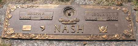NASH, RALPH PORTER - Linn County, Iowa | RALPH PORTER NASH