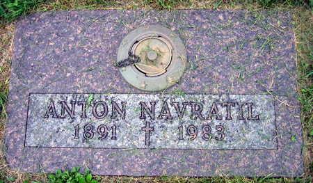 NAVRATIL, ANTON - Linn County, Iowa | ANTON NAVRATIL