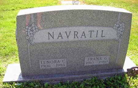 NAVRATIL, LENORA C. - Linn County, Iowa | LENORA C. NAVRATIL