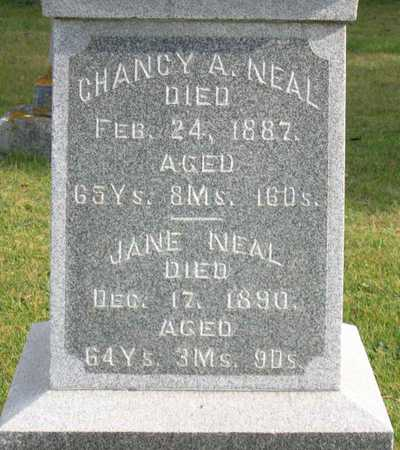 NEAL, CHANCY A. - Linn County, Iowa | CHANCY A. NEAL