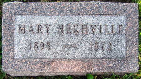 NECHVILLE, MARY - Linn County, Iowa | MARY NECHVILLE