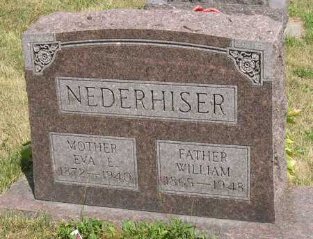 NEDERHISER, WILLIAM - Linn County, Iowa | WILLIAM NEDERHISER