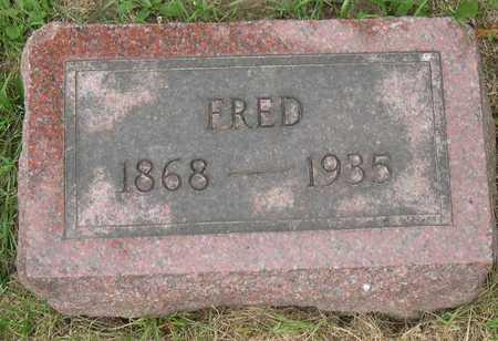 NEDERHISER, FRED - Linn County, Iowa | FRED NEDERHISER