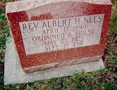 NEES, REV. ALBERT H. - Linn County, Iowa | REV. ALBERT H. NEES