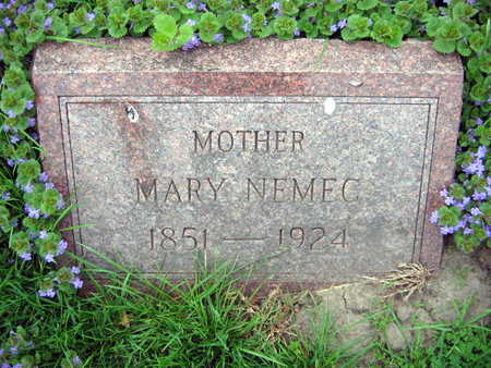 NEMEC, MARY - Linn County, Iowa | MARY NEMEC