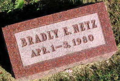 NETZ, BRADLY E. - Linn County, Iowa | BRADLY E. NETZ