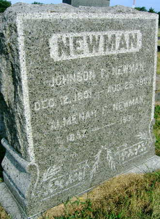 NEWMAN, JOHNSON P. - Linn County, Iowa | JOHNSON P. NEWMAN