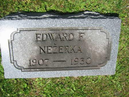 NEZERKA, EDWARD F. - Linn County, Iowa | EDWARD F. NEZERKA